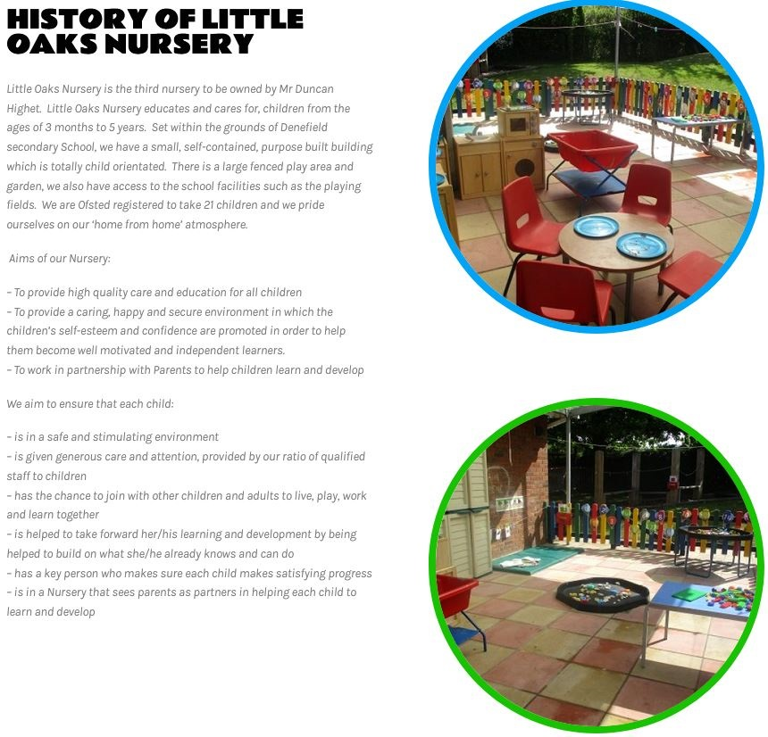 nursery school wordpress design