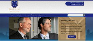 New Website – Brittons Solicitors Ltd