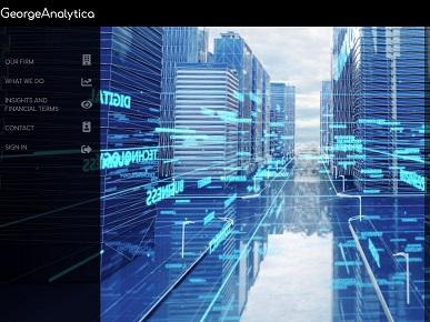 George Analytica website designed artofdata