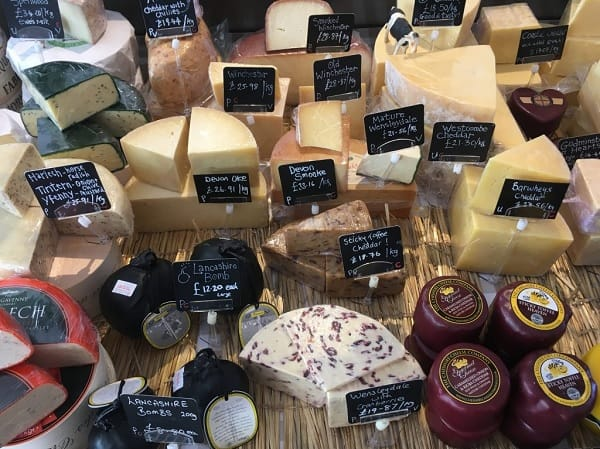 cheese shop reading website design