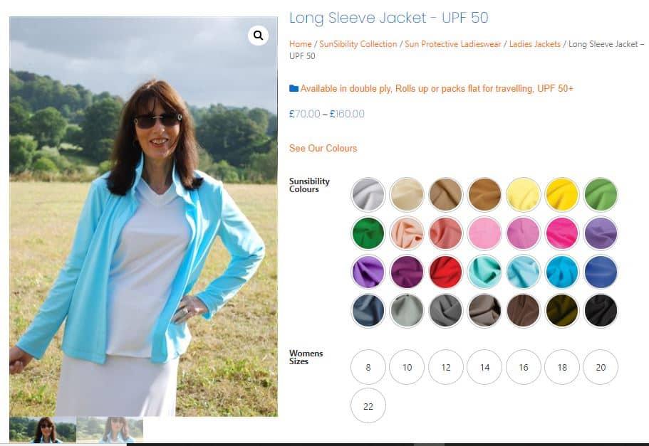 retail clothing ecommerce design