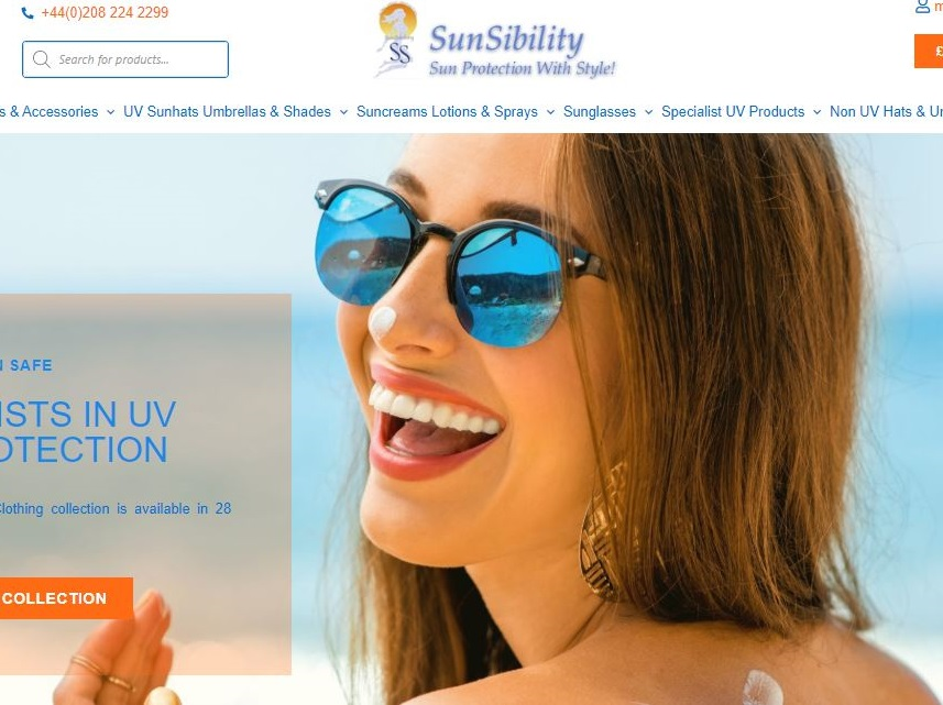 sunsibility web site design