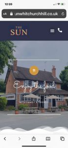brochure websites for pubs